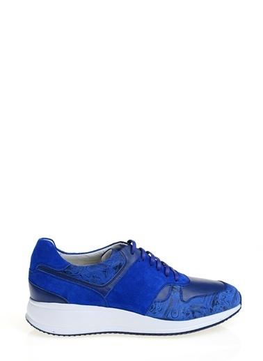 Daffari Bağcıklı Spor Ayakkabı Lacivert